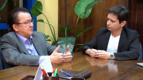 Slaidel Entrevista Aurélio da Silva